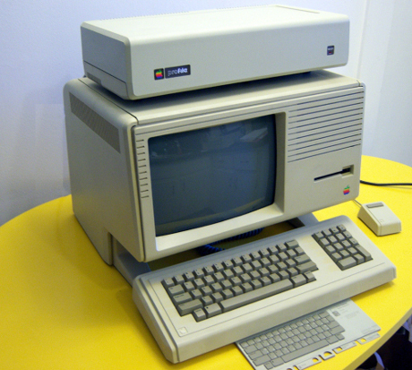 apple lisa komputer jadul