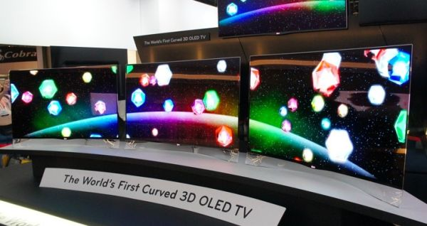 Curved TV OLED