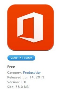 Office 365 for iOS